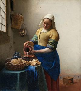Het Melkmeisje (ca. 1660) - Johannes Vermeer - Rijksmuseum Amsterdam